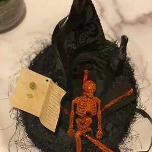 Brand mew Bethany Lowe skeleton hat